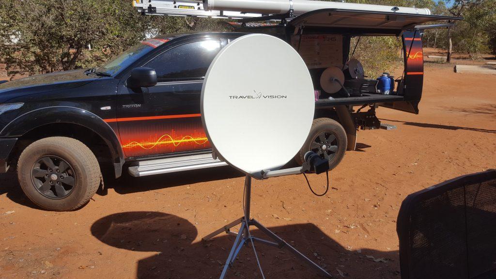 Automatic Portable Satellite
