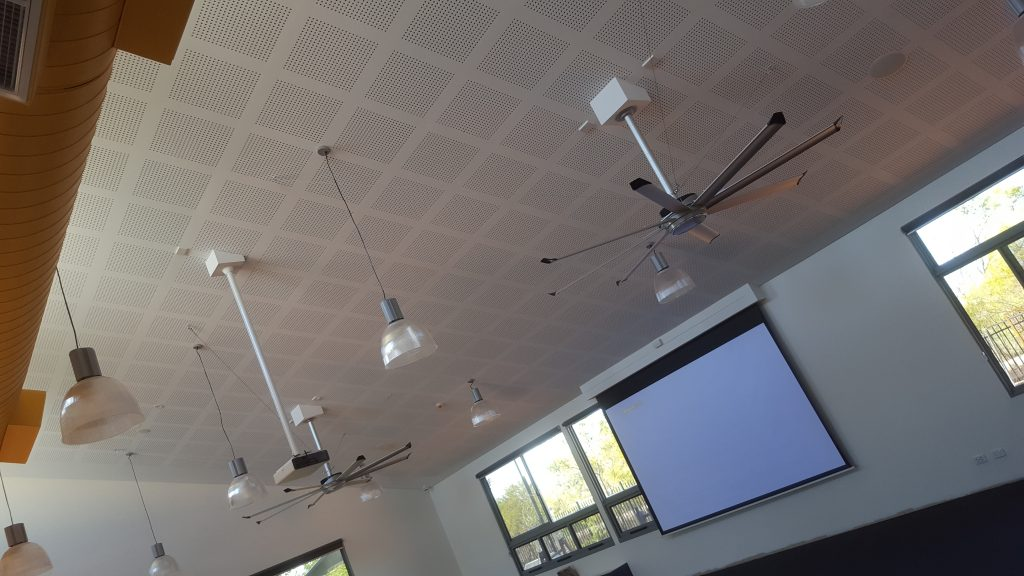 Broome Residential College upgrade Projector in Recreation halll