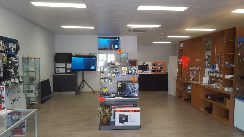 Our Shop in the RetraVision Complex 2016