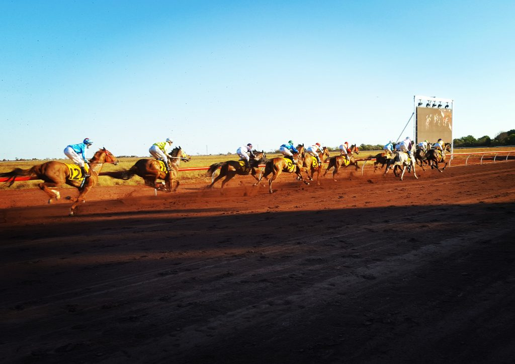 Broome Cup, Broome TV on site and in control of all AV