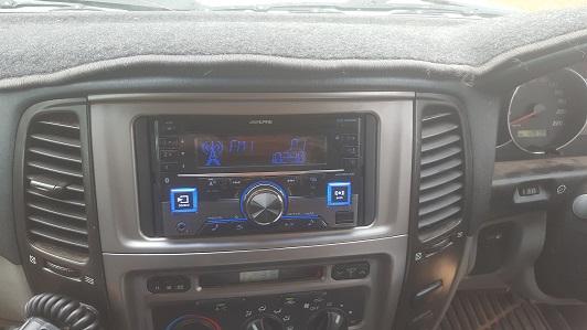Alpine Double Din Bluetooth Upgrade