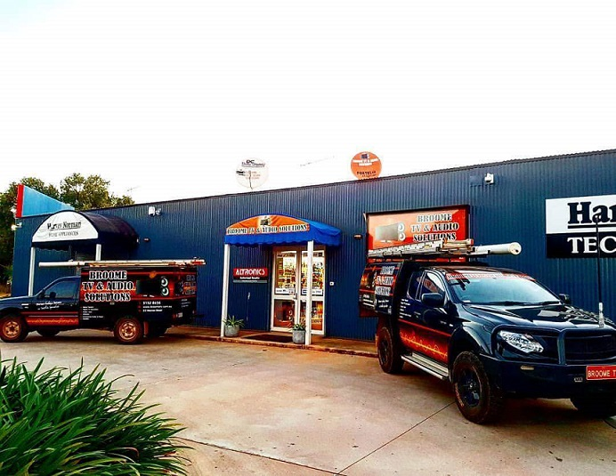Broome TV Service Vehicles & Retail Shop 2017