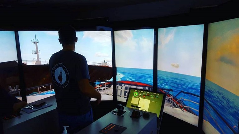 Tug Boat Simulator  Designed and Installed by Broome TV